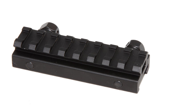 "1/2"" RISER 8-Slot Low Riser WEAVER PICATINNY Scope Mount Rail AR15 223 5.56 - AR15 handguard, Ar15 Free float handguard, Ar10 keymod handguard, Ar10 handguard, Ar15 keymod handguard, Ar15 slim handguard, Ar15 quad rail handguard, Ar15 gas block, Ar15 buffer tube, Ar15 muzzle brake, Ar15 gas tube, Ar 15 handguard, affordable ar 15 free float handguard, AR 15 handguard USA, ar 15 handguard, ar 15 hand guard"