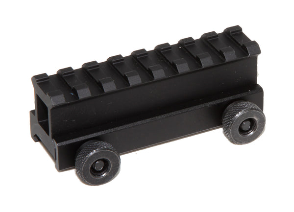 "1"" RISER 8-Slot High Riser WEAVER PICATINNY Scope Mount Rail AR15 223 5.56 - AR15 handguard, Ar15 Free float handguard, Ar10 keymod handguard, Ar10 handguard, Ar15 keymod handguard, Ar15 slim handguard, Ar15 quad rail handguard, Ar15 gas block, Ar15 buffer tube, Ar15 muzzle brake, Ar15 gas tube, Ar 15 handguard, affordable ar 15 free float handguard, AR 15 handguard USA, ar 15 handguard, ar 15 hand guard"