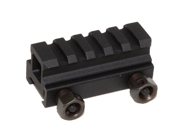 "13/16"" RISER 5-Slot Riser WEAVER PICATINNY Scope Mount Rail AR15 223 5.56 - AR15 handguard, Ar15 Free float handguard, Ar10 keymod handguard, Ar10 handguard, Ar15 keymod handguard, Ar15 slim handguard, Ar15 quad rail handguard, Ar15 gas block, Ar15 buffer tube, Ar15 muzzle brake, Ar15 gas tube, Ar 15 handguard, affordable ar 15 free float handguard, AR 15 handguard USA, ar 15 handguard, ar 15 hand guard"