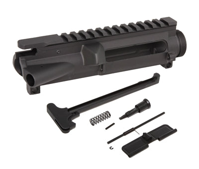 AR-15 Upper Receiver Kit 7075-T6 Forged - Made in U.S.A. - Incl. Ejection Port Kit, Forward Assist, & Charging Handle (Unassembled) - AR15 handguard, Ar15 Free float handguard, Ar10 keymod handguard, Ar10 handguard, Ar15 keymod handguard, Ar15 slim handguard, Ar15 quad rail handguard, Ar15 gas block, Ar15 buffer tube, Ar15 muzzle brake, Ar15 gas tube, Ar 15 handguard, affordable ar 15 free float handguard, AR 15 handguard USA, ar 15 handguard, ar 15 hand guard