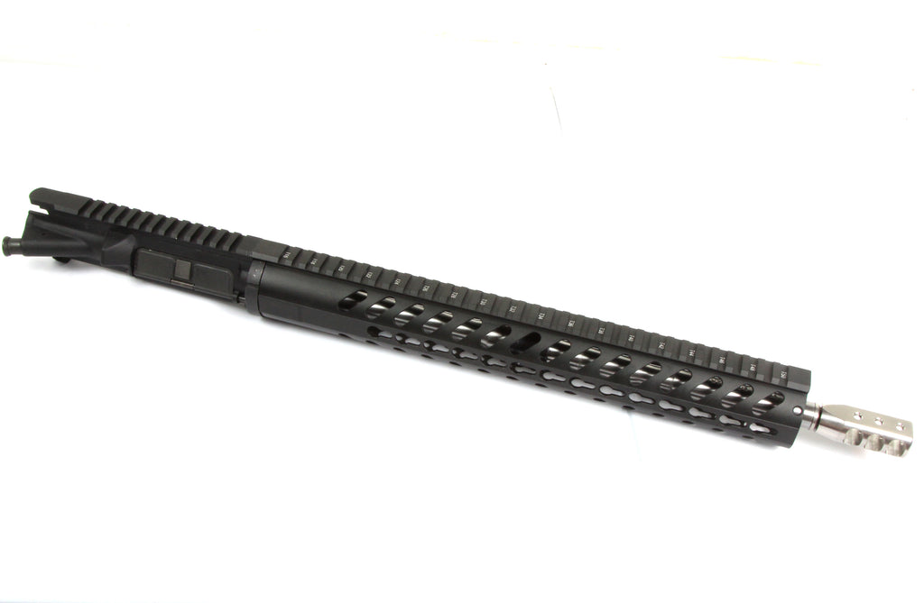 "223 Wylde Build Kit | AR15 Complete Upper Build Kit 16"" stainless Barrel W/ 1:8 Twist , .223 Wylde (unassemble) - AR15 handguard, stainless steel ar15 muzzle brake"