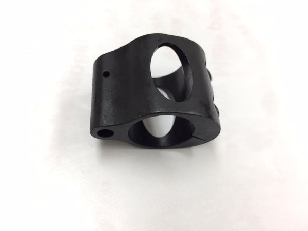 "Gas Block .75"" Gas Block Low profile Clamp-on steel"