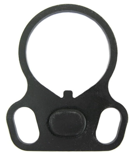 End Plate Ambidextrous Dual loop Receiver Sling Mount Adapter Rifle Stock Buffer Tube AR15 223 5.56