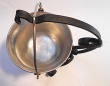 Copper Pot Food Warmer Cauldron with Hand Forged Stand  0.7 Liters 2.9oz - Handcrafted Wood, Iron & Copper