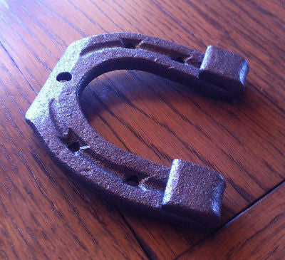 Small Horseshoe Hand-Forged  Wrought Iron Country Decor 1.95