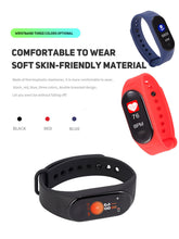 Smart Watch Bracelet Band Fitness Tracker Wristband Heart Rate Activity  Screen Smart Electronics Sport Watch - Handcrafted Wood, Iron & Copper