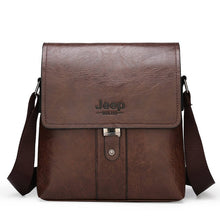 JEEP Men Women Shoulder Bag Set Crossbody Business Messenger Bags For Man Fashion Casual pu Leather - Handcrafted Wood, Iron & Copper