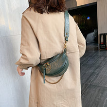 Fashion Quality PU Leather Crossbody Bags  Chain Small Shoulder Messenger Bag Lady Travel Handbag Purse - Handcrafted Wood, Iron & Copper