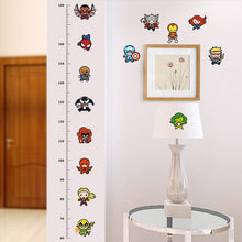Child Height Measure Chart Wall Stickers For Kids Rooms Decals Art Children Room Decoration - Handcrafted Wood, Iron & Copper