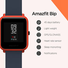 Amazfit Bip Smart Watch Bluetooth GPS Sport Heart Rate Monitor IP68 Waterproof Call Reminder MiFit APP Alarm Vibration - Handcrafted Wood, Iron & Copper