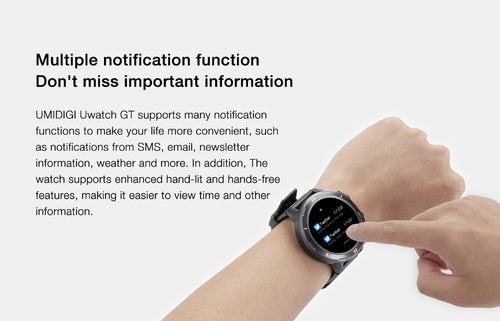 Smart Watch 5ATM Waterproof All-Day Heart Rate Activity Tracking Sleep Monitor Ultra-Long Battrey Android iOS - Handcrafted Wood, Iron & Copper