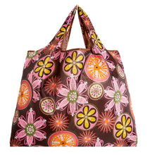 Big Size Thick Magic style Nylon Large Tote ECO Reusable Polyester Portable Shoulder Handbag Folding Pouch Shopping Bag Foldable - Handcrafted Wood, Iron & Copper
