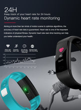 Smart Wristband Watch Heart Rate Blood Pressure Monitor Tracker Fitness Wristwatch Tracker Smart Bracelet Waterproof Smart Watch Pedometer - Handcrafted Wood, Iron & Copper