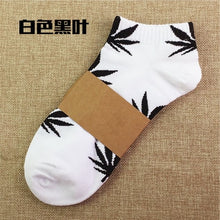 Short Tube Socks Hip Hop Socks Men Women Street Skateboard Boat Socks Hemp Leaf Sports Socks - Handcrafted Wood, Iron & Copper