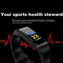 Smart Bracelet Watch Sport Bluetooth Wristband Heart Rate Monitor Wristwatch Activity Fitness Tracker - Handcrafted Wood, Iron & Copper
