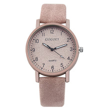 Women's Watches Fashion Leather Watch Women Wristwatch Ladies - Handcrafted Wood, Iron & Copper