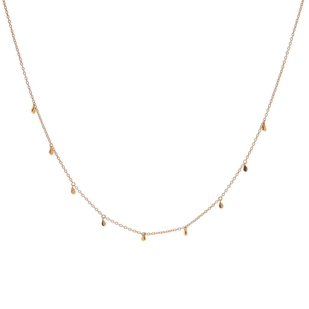Tears Gold Choker Necklace