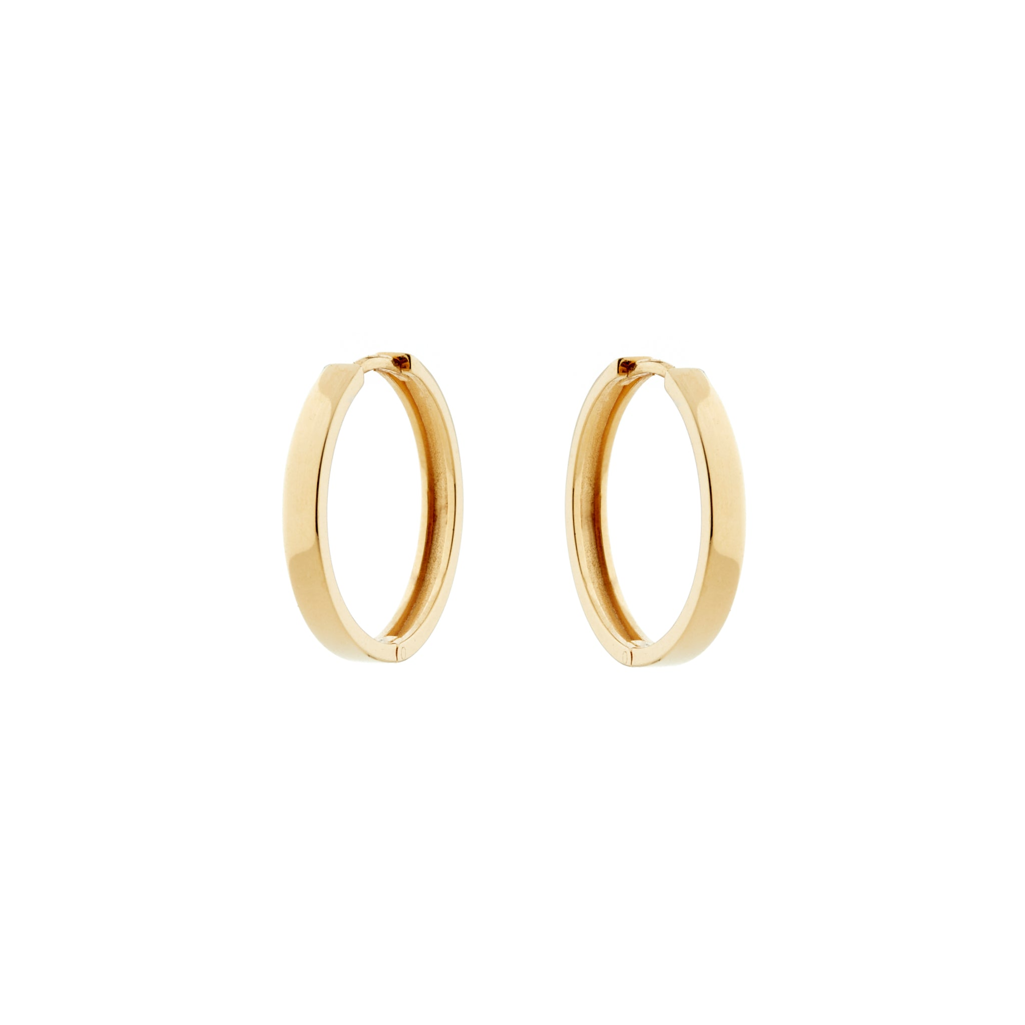 Bare Gold Hoops