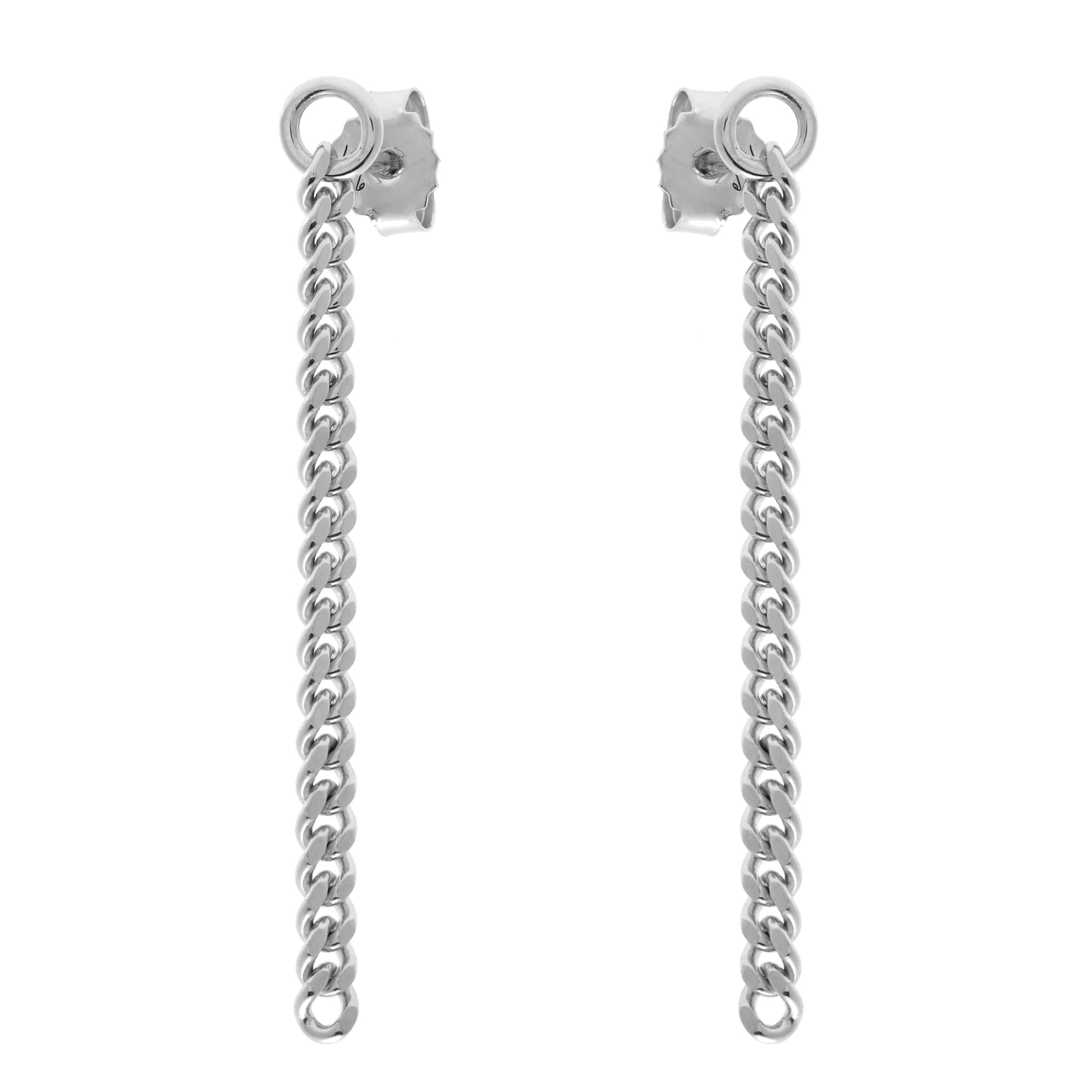 Melrose Silver Drop Earrings