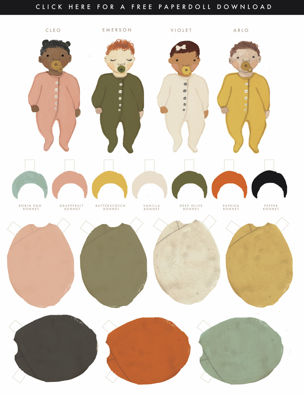 Free Paper Doll Download