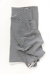 Black And White Stripe Swaddle