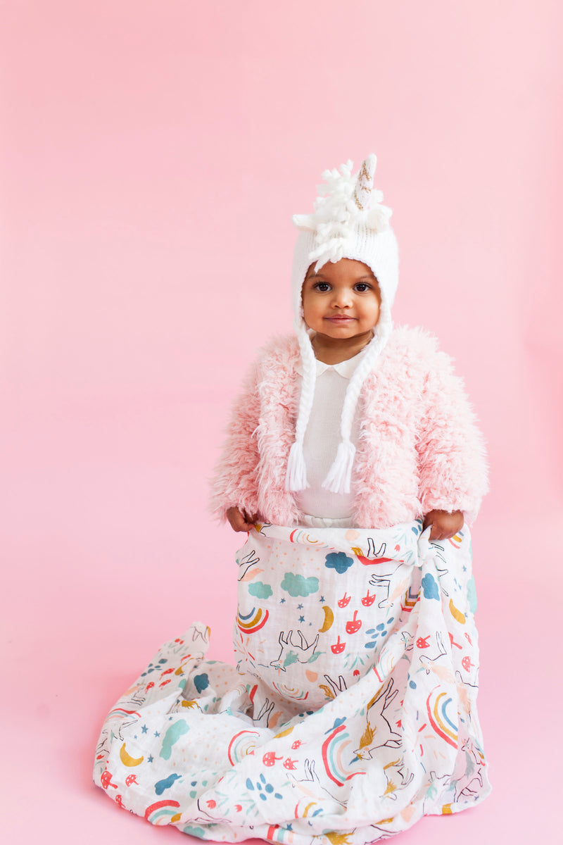 Unicorn Land Swaddle