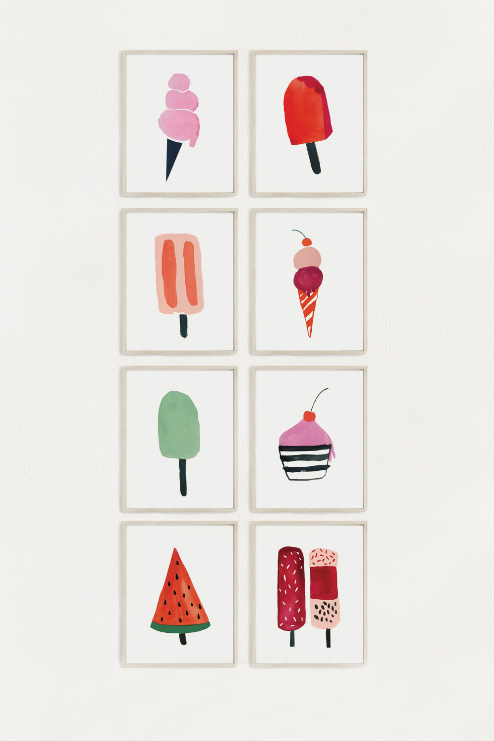 Ice Cream 8 Pack - 5x7