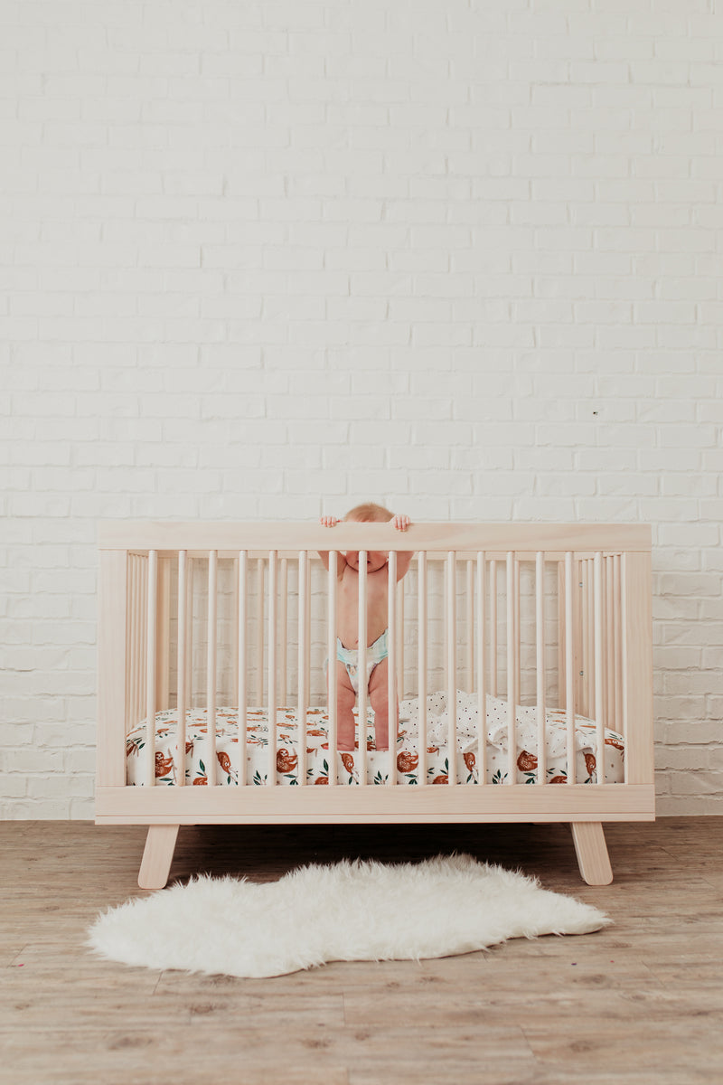 Slow Living Crib Sheet