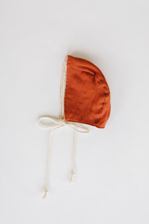 Heirloom Bonnet - Paprika