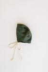 Heirloom Bonnet - Deep Olive