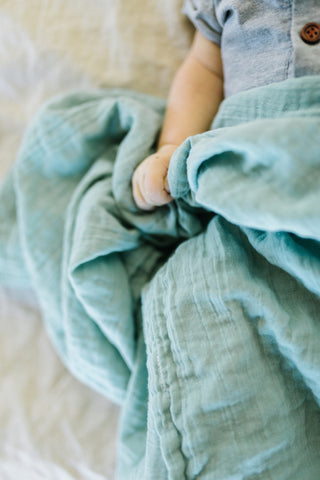 Heirloom Swaddle - Vanilla