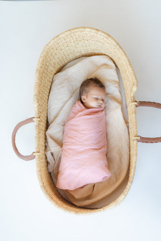 Heirloom Swaddle - Paprika
