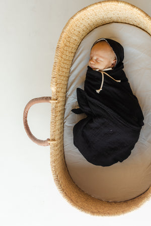 Heirloom Swaddle - Pepper
