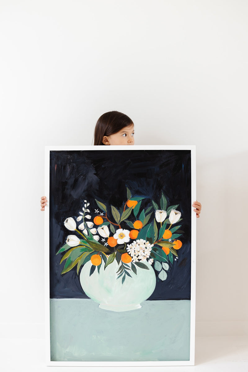 Orange Blossom Art