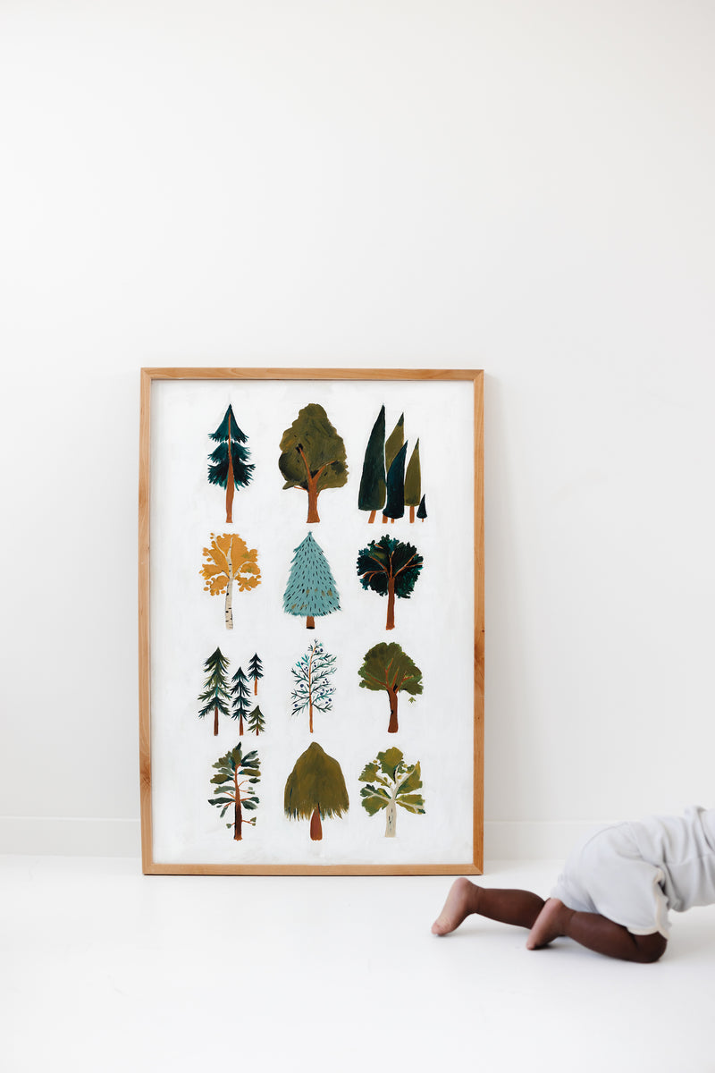 Forest Trees Art