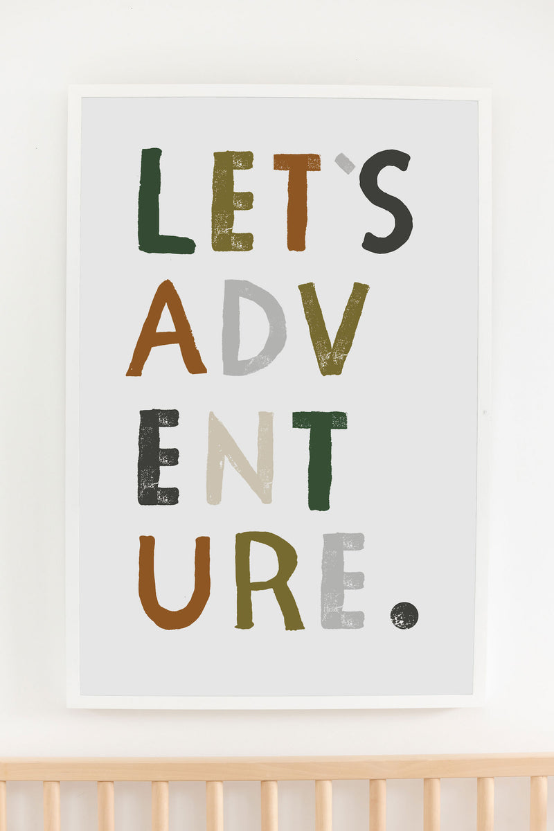 Let's Adventure Art