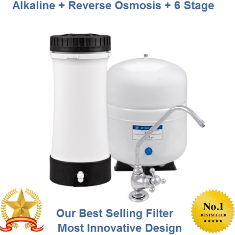 Alkaline + Ultra Flow + Reverse Osmosis (Best Seller)