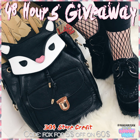 30$ Store Credit Giveaway by @Kawaiimoristore and @magarisan