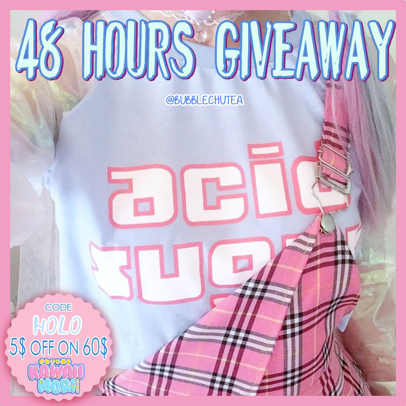 Hologram Shirt Giveaway by @Kawaiimoristore and @bubblechutea