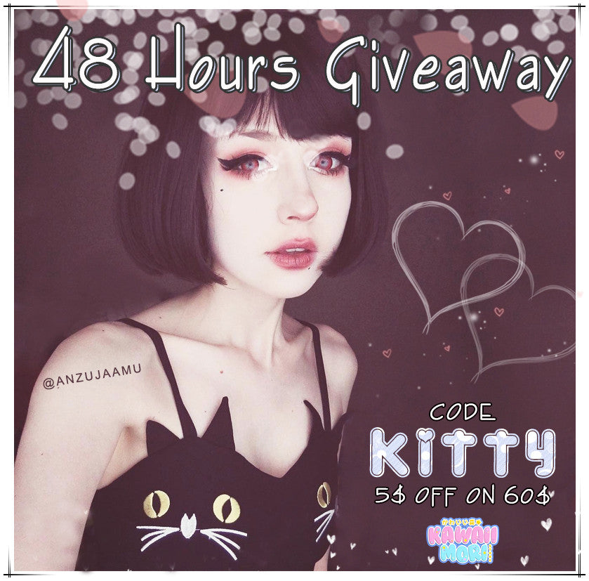 Kitty Dress 48 Hours Flash Giveaway