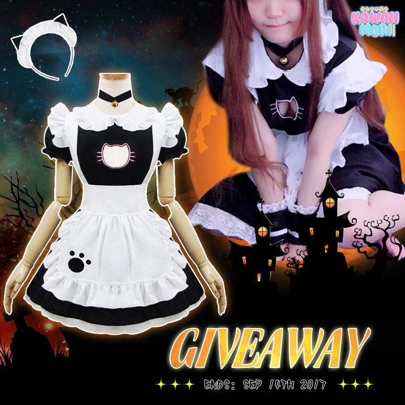 Halloween Maid Dress Giveaway