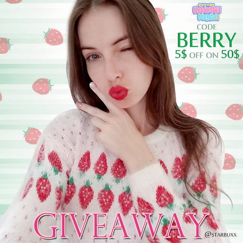 Strawberry Sweater Giveaway