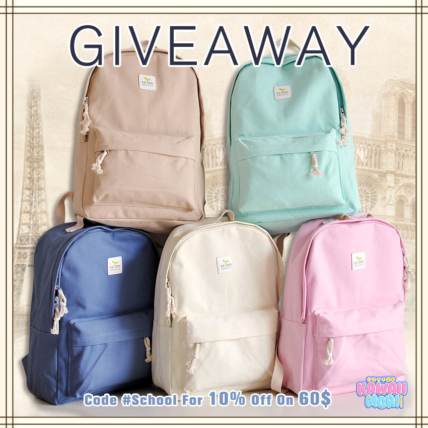 Back To School Giveaway & Promotion