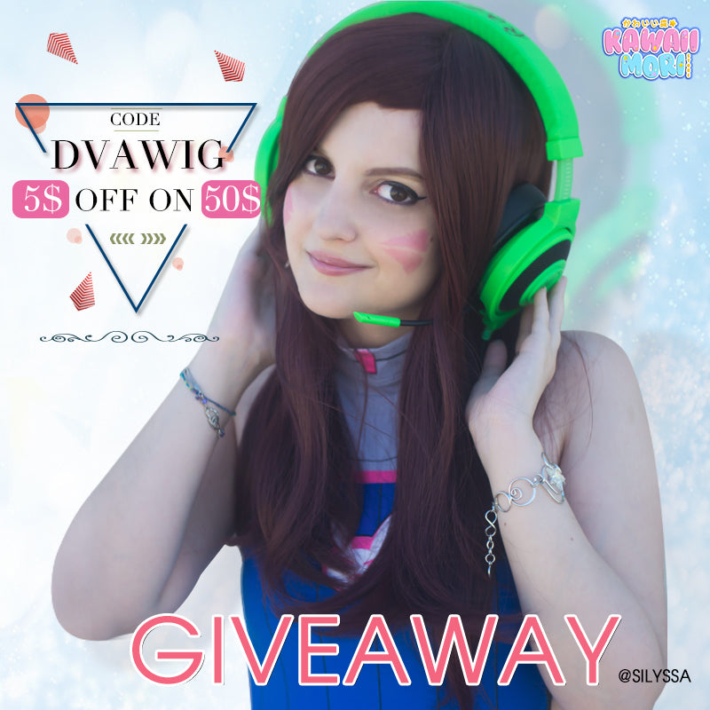 D.VA Wig Co-Giveaway By @Kawaiimoristore and @silyssa