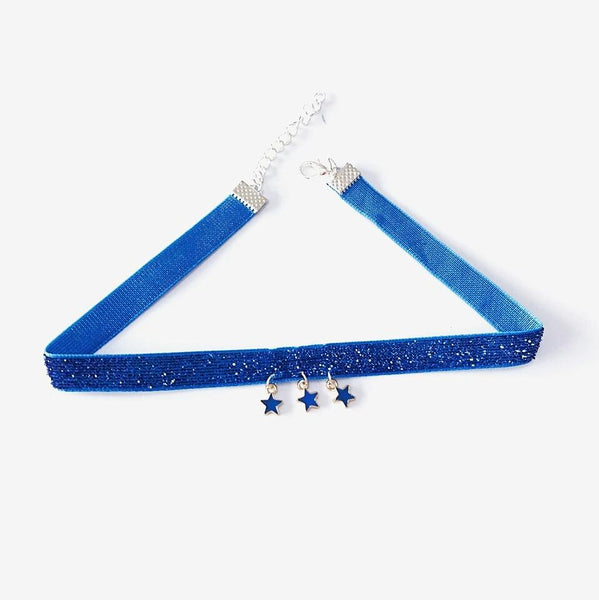 Blue/Black Harajuku Star Choker