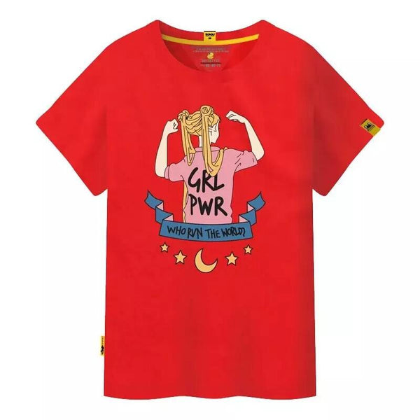 5 Colors Sailor Moon Tee Shirt K14788