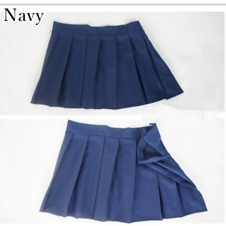 [10 Colors] Custom Made J-fashion Sailor Seifuku Uniform Pleated Skirt Only KW151672