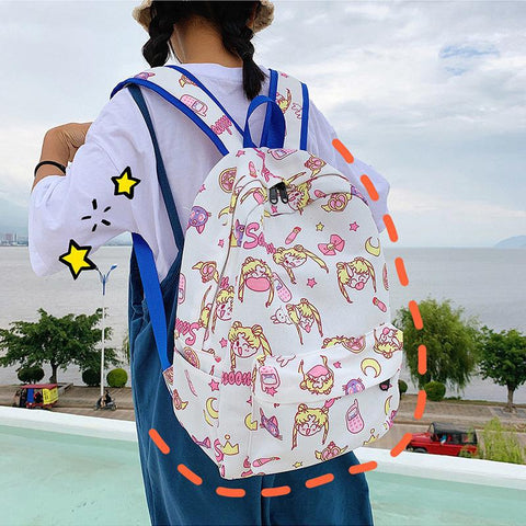 Happy Summer Sailor Moon Backpack SS0912