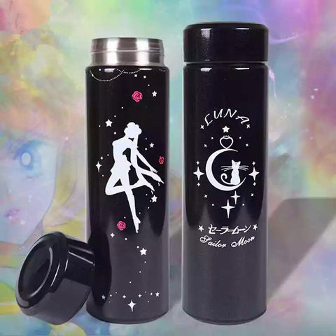 Sailor Moon Usagi Luna Vacuum Cups Bottle