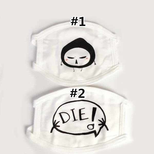 Overwatch Reaper Die Mouthmasks